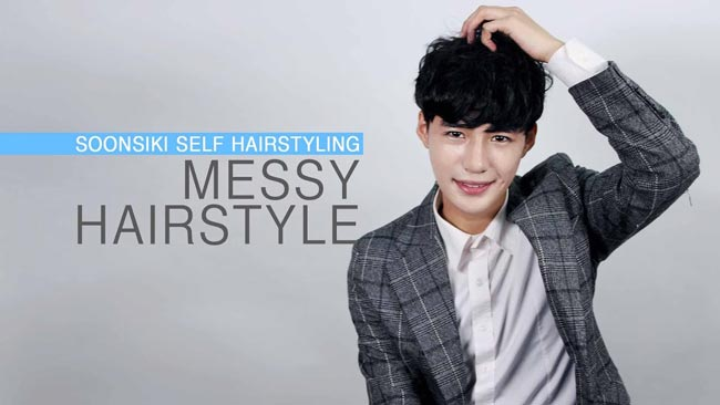 messy haistyle