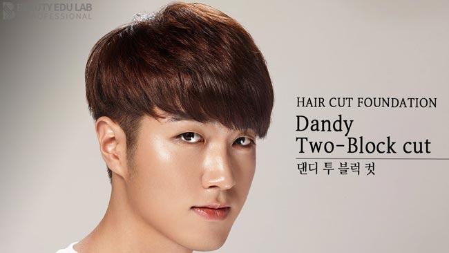 model rambut pria korea two black hair cut