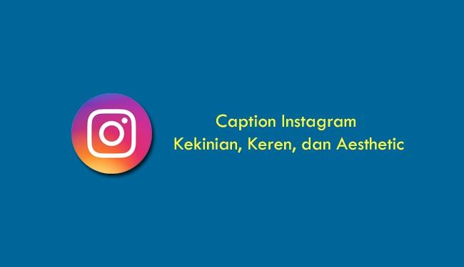caption instagram aesthetic
