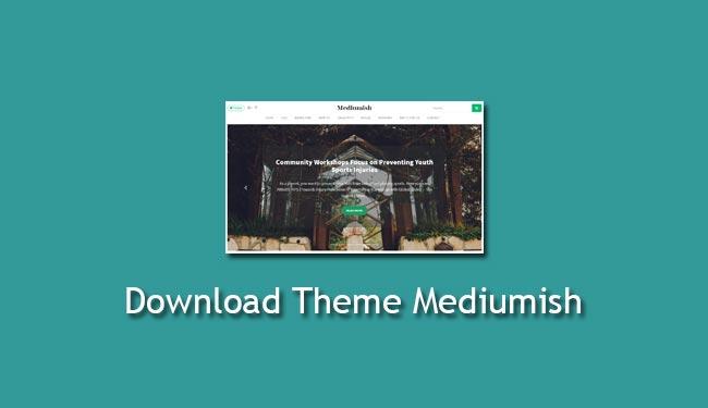 download theme mediumish
